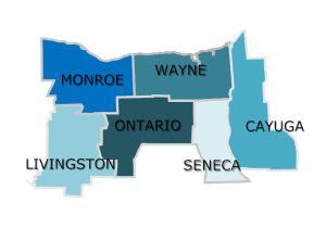 2-1-1 LIFE LINE Core Service Region Map3