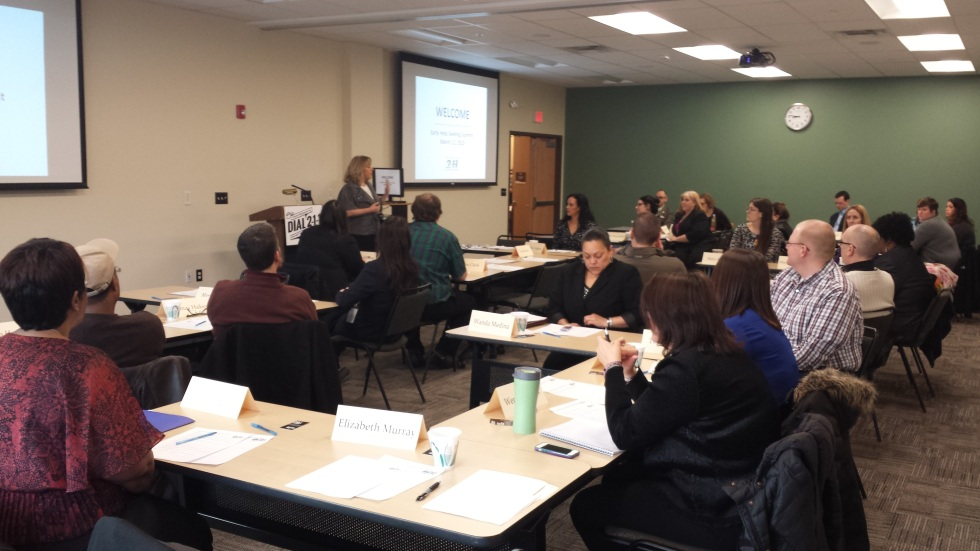 Early Help Seeking Summit  - Carol Borsa speaking